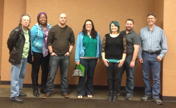 Some of the attendees at the NORML of Waco December 2015 Meeting.