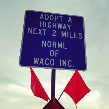 NORML of Waco Adopted Highway